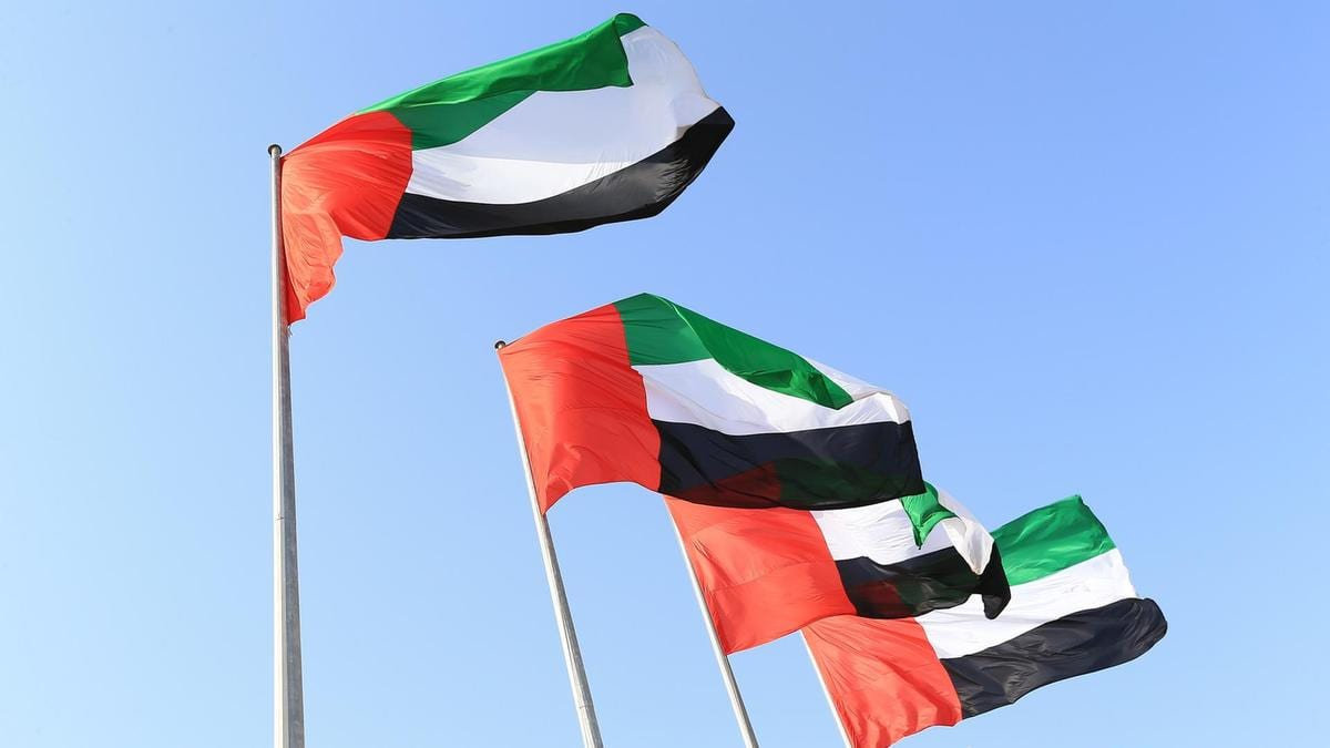 UAE Flags