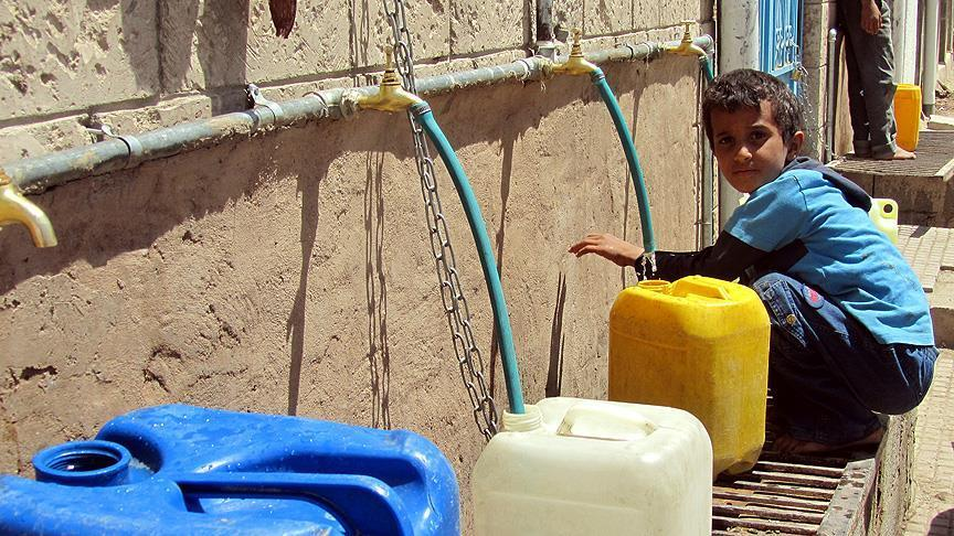 Lack of potable water, health services puts children at risk of cholera, UN children's fund warns.
