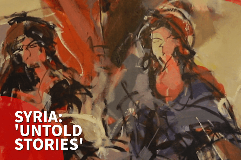 Untold stories': London gallery showcases contemporary Syria art