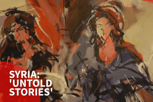 Thumbnail - 'Untold stories': London gallery showcases contemporary Syria art