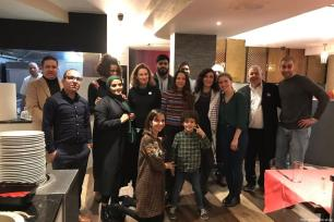 Prominent activists, academics and musicians came together to celebrate Palestinian culture and arts this weekend [Muhammad Ibrahim]