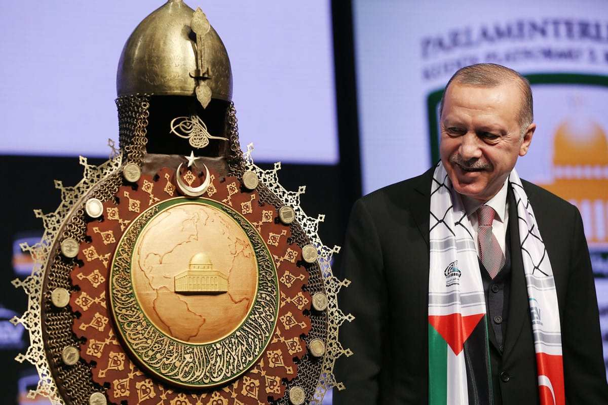 Erdogan: Israel tries to dim Islam's traces in Jerusalem
