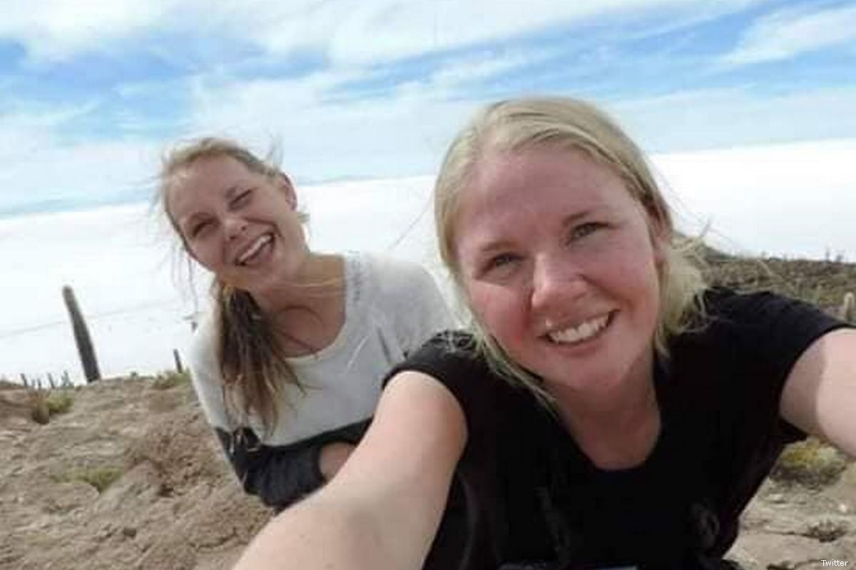 Louisa Vesterager Jespersen, 24, and 28-year-old Maren Ueland were found dead near the Atlas Mountains, Morocco [Twitter]