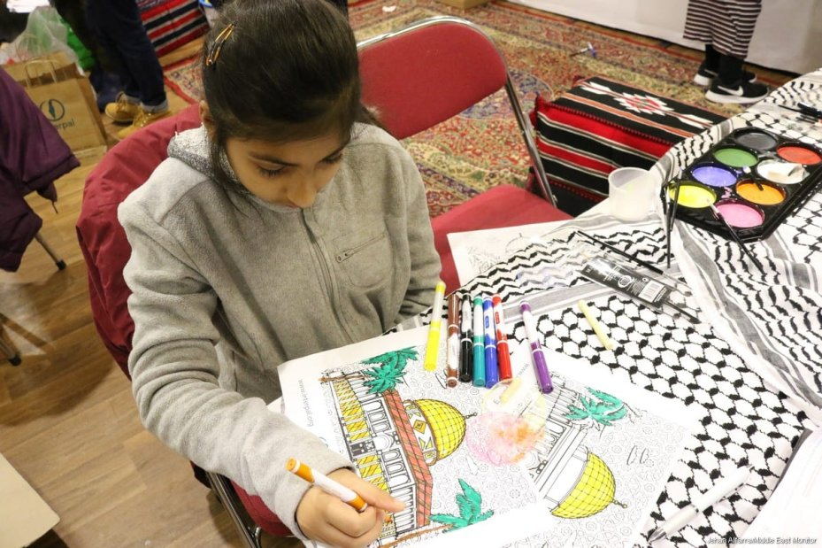 Palestinian Festival 2018, held in London on 15 December 2018 [Jehan Alfarra/Middle East Monitor]