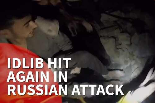 Thumbnail - Idlib air strikes violate ceasefire agreement