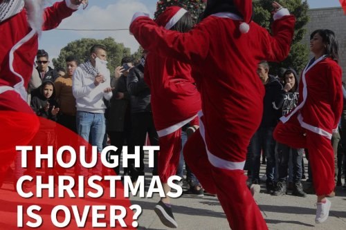 Orthodox Christians celebrate Christmas in the Middle East