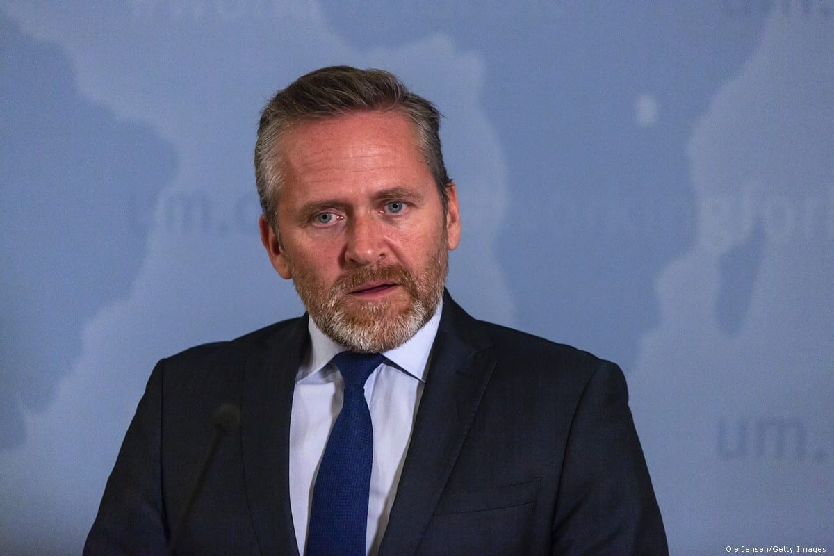 Danish Foreign Minister, Anders Samuelsen in Copenhagen, Denmark on 30 October 2018 [Ole Jensen/Getty Images]