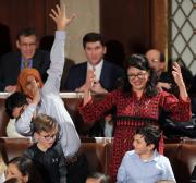 To Israel 'the mere existence' of a Palestinian Muslim Congresswoman is a menace
