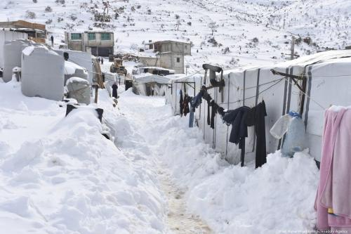 UNICEF: 15 Syria children dead due to extreme weather