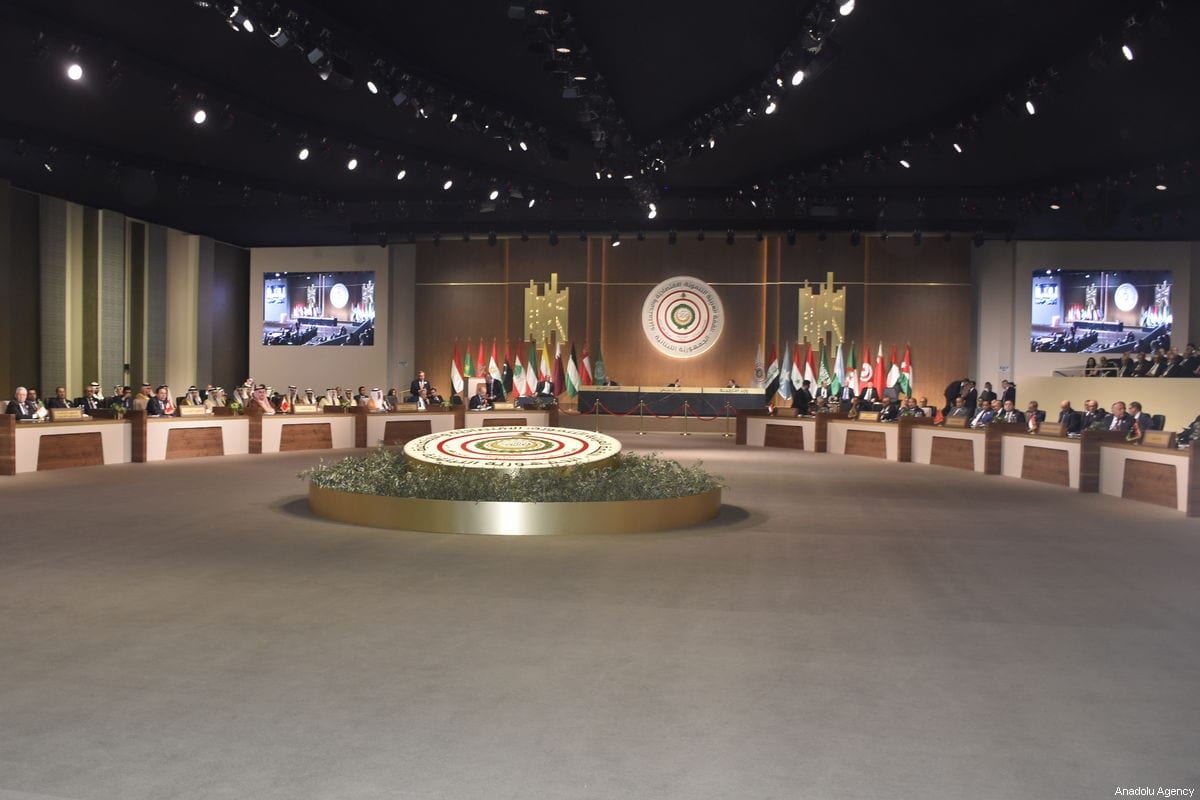 The Arab League's fourth Economic and Social Development Summit held on 20 January, 2019 in Beirut, Lebanon [Jihad Muhammad Behlok/Anadolu Agency]