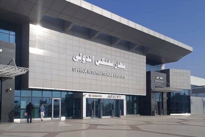 The new Sphinx International Airport in Giza governorate, Egypt, seen in an image uploaded October 12, 2018 [mahmouedgamal44 / Twitter]