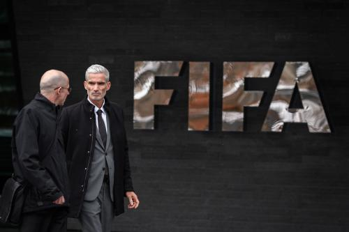 FIFA headquarters in Zurich, Switzerland [FABRICE COFFRINI/AFP/Getty Images]