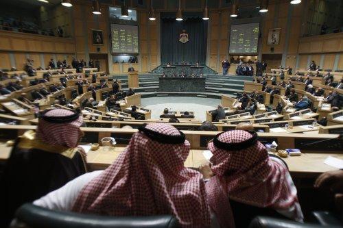 jordanian Prime Minister Awn Jordanian Parliament on 1 December 2011 [Salah Malkawi/ Getty Images]