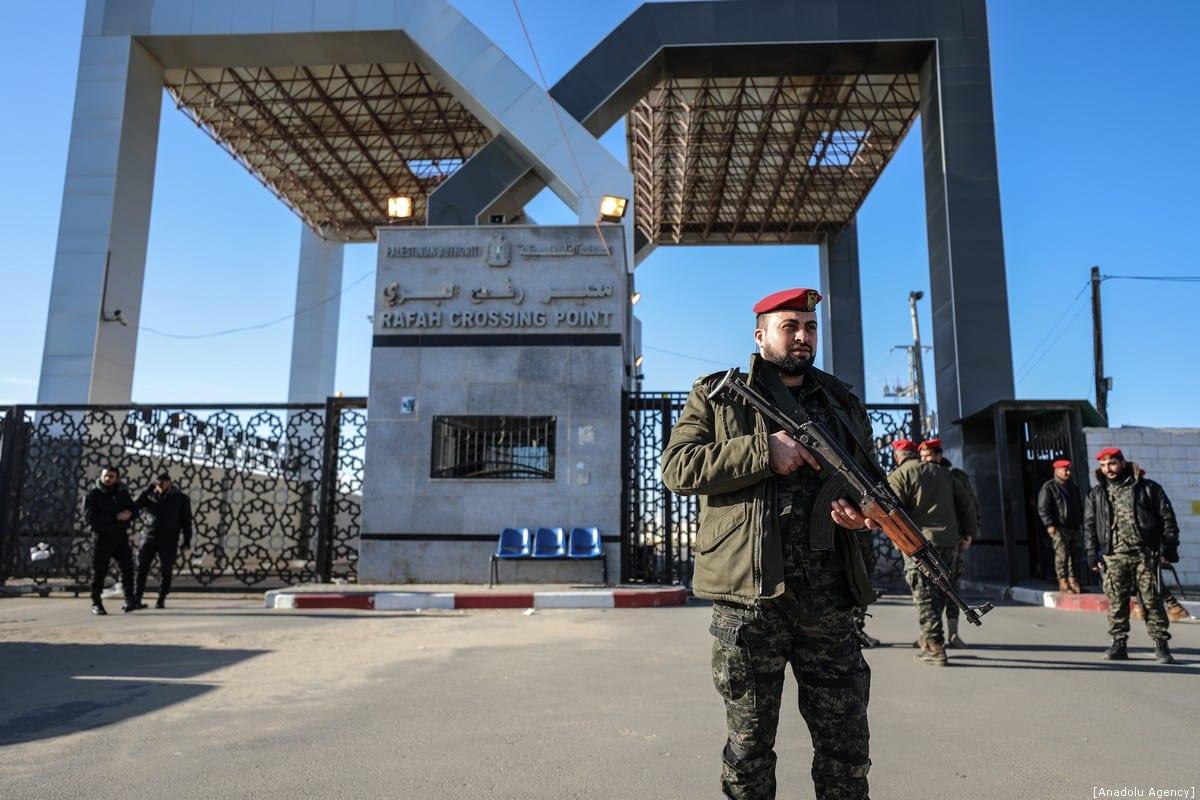 Egypt closes Rafah crossing ahead of revolution anniversary