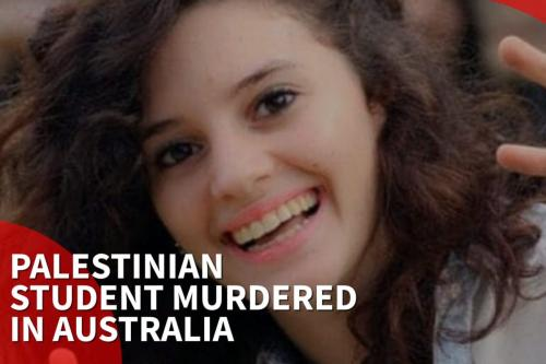 Aiia Masarwe, Palestinian student murdered in Australia