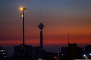 A general view of Milad tower during 37th Fajr Film Festival on 6 February 2019 in Tehran, Iran. [Amin Mohammad Jamali/Getty Images]