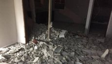 Majdi Abu Tayeh was forced to demolish his own home in order to avoid demolition costs of near $1,400 from the Israeli occupation on 30 January 2019 [Silwanin.net]