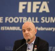 Infantino defends FIFA from criticism over Bahraini footballer