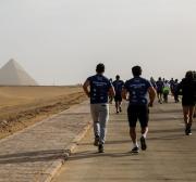 Egypt's Pyramids turned into marathon venue