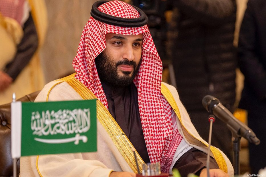 Crown Prince of Saudi Arabia Mohammad bin Salman in Islamabad, Pakistan on 17 February 2019 [Bandar Algaloud/Anadolu Agency ]