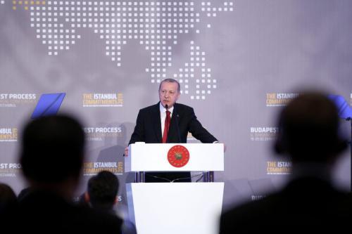 Erdogan: Turkey no longer able to face new refugee flow