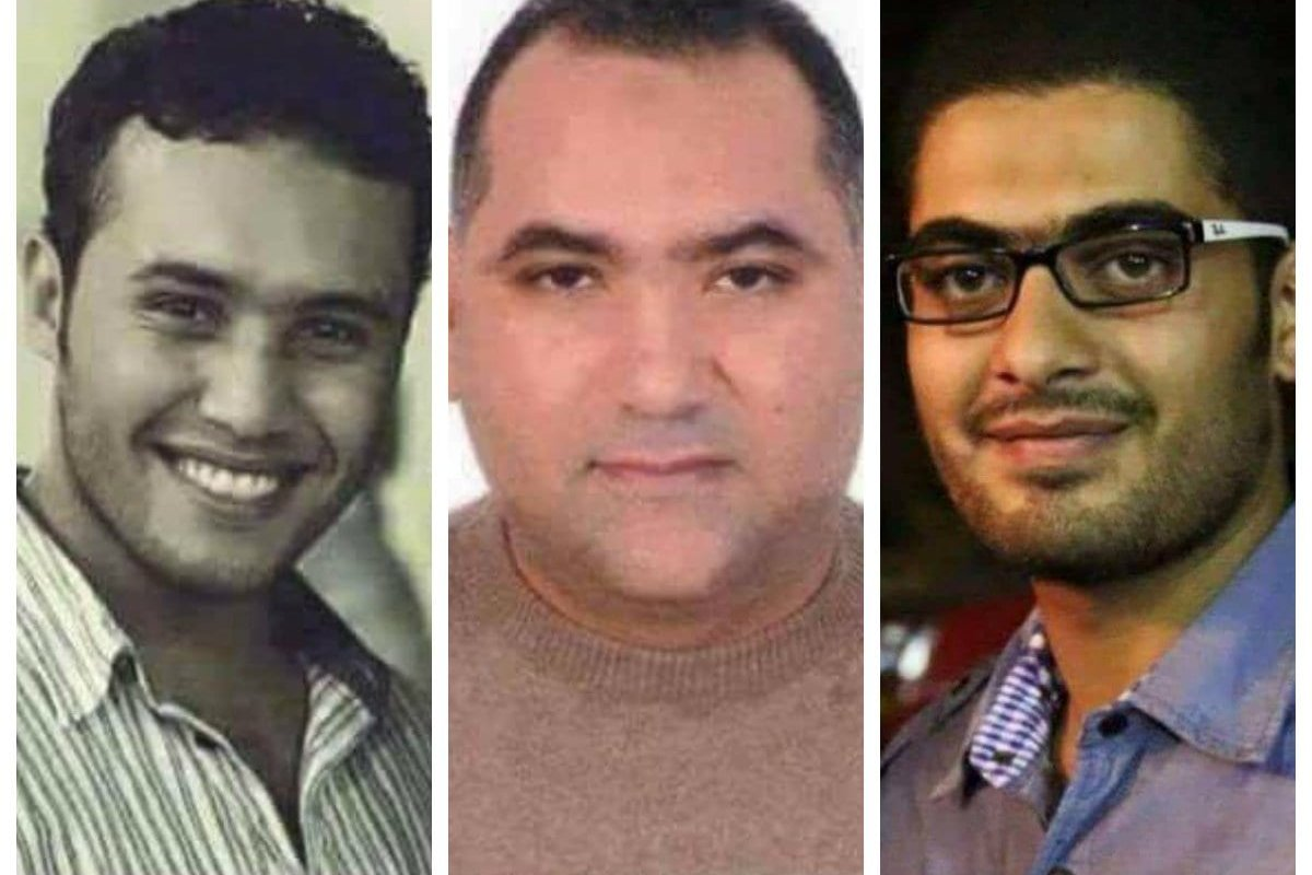 Three Egyptians were executed on Thursday for allegedly killing judge's son in 2014 [Facebook]