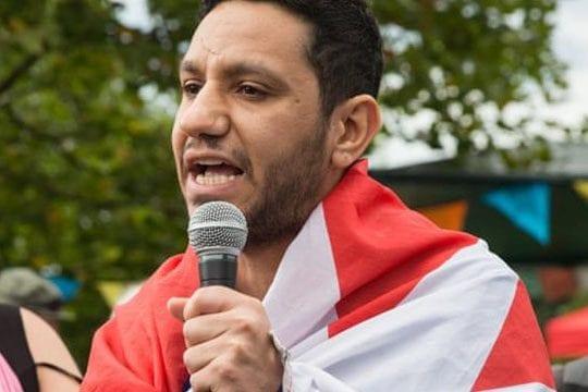 Sayed Alwadaei, exiled Bahraini human rights activist [Twitter]