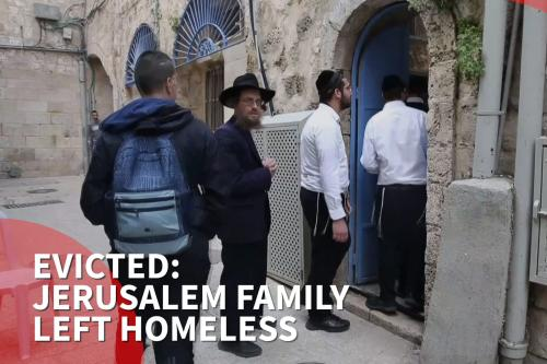UK concerned by eviction of Palestinian family in Jerusalem