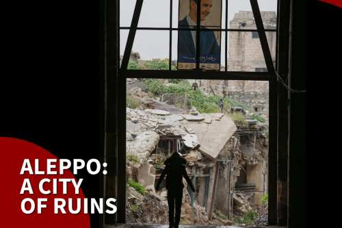 Thumbnail - Syrians fear for their safety as Aleppo crumbles