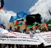 UN measures against UNRWA are intended to negate the Palestinians' right of return