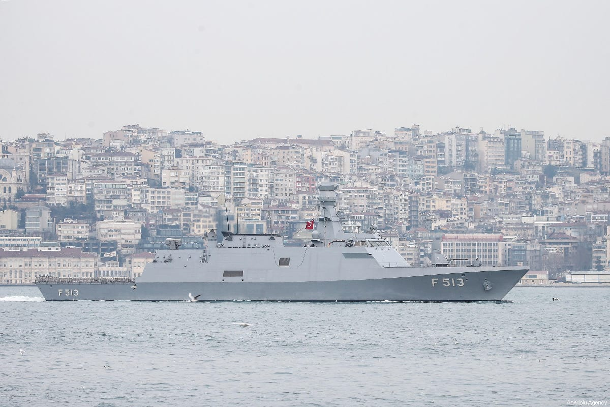 Turkish Naval Forces in Istanbul, Turkey on 2 March 2019 [Onur Çoban/Anadolu Agency]