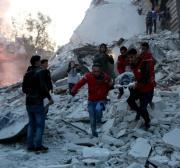 Report: Syria regime attacks displaced 200,000 civilians in five months