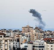 Israel strikes two Hamas positions in blockaded Gaza