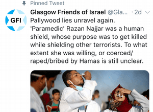 Tweets by Glasgow Friends of Israel