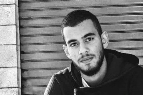 Volunteer Palestinian paramedic Sajed Abed al-Hakim Mizher, was shot by Israeli forces, while on duty in the Dheisheh refugee camp in the southern occupied West Bank city of Bethlehem on 27 March 2019 [Maan News]