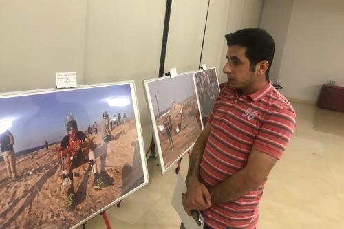 MEMO photographer's work displayed in Qatar anti-normalisation event