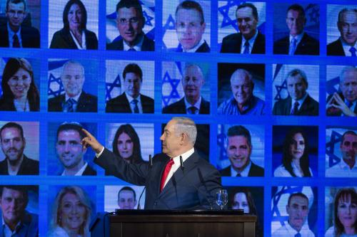 Netanyahu addresses AIPAC from Israel after returning to discuss Gaza bombing