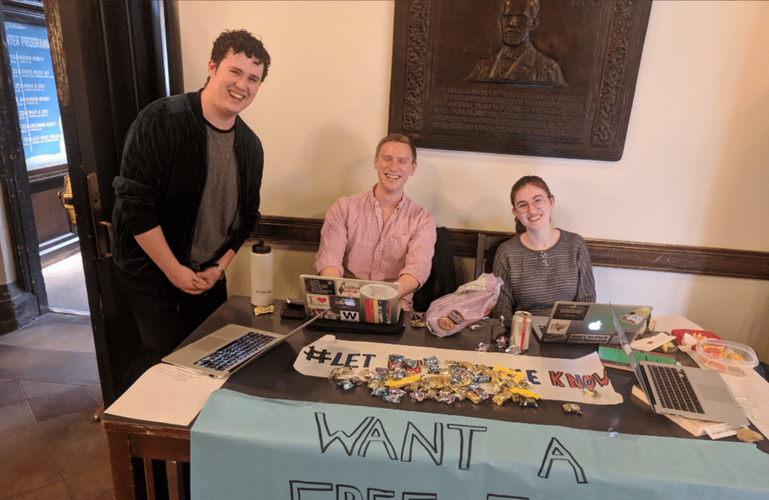 J Street U encourages students to apply for their new #LetOurPeopleKnow trip this summer and to sign their pledge not to go on trips that ignore the occupation [Twitter]