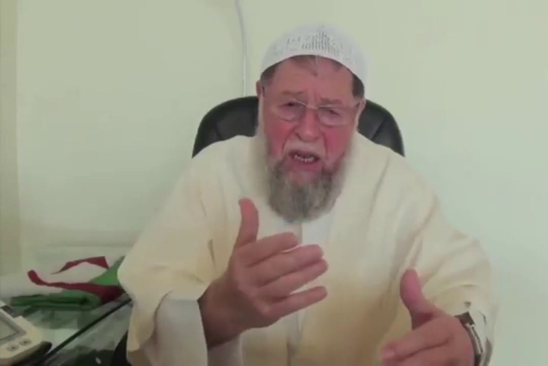 Leader of the Islamic Salvation Front in Algeria, Sheikh Abbassi Madani [Twitter]