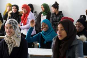 Tunisians take part in Generation For Peace events which aim to end racism and discrimination in society Jordan-based NGO Generation For Peace holds events to encourage social cohesion and local peacebuilding at a grassroots level in Tataouine, Tunisia. GFP Program