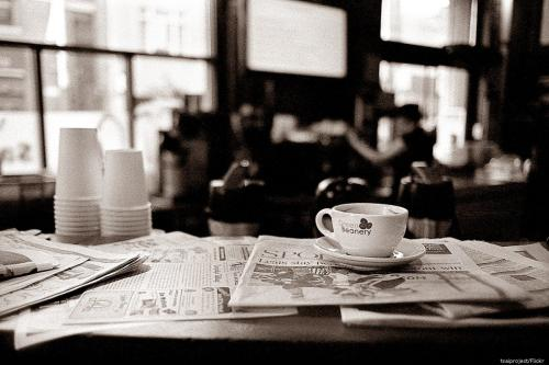 A coffee shop [tsaiproject/Flickr]