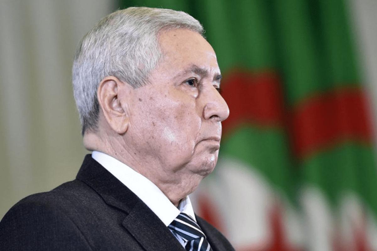 Abdelkader Bensaleh, Parliament Speaker an newly appointed Algeria's interim president [Getty]
