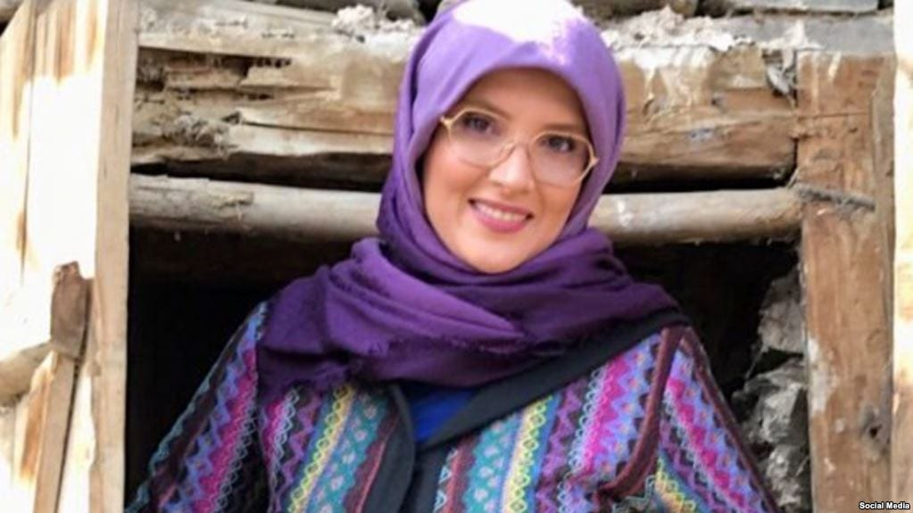 Iranian journalist and political activist Hengameh Shahidi [social media]