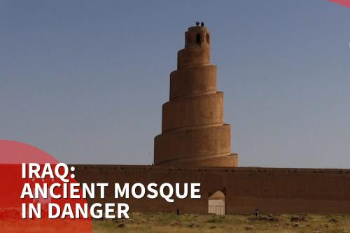 Thumbnail - Ancient mosque in Iraq at risk of collapse