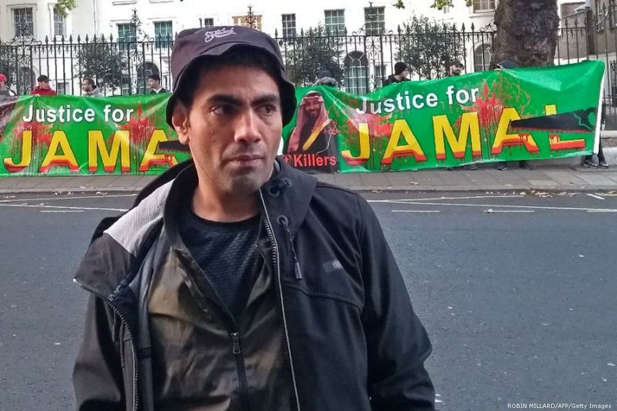 Saudi dissident satirist Ghanem Almasarir