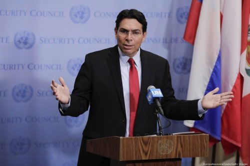 Israeli Ambassador to the UN Danny Danon in New York, US on 24 July 2018 [EuropaNewswire/Gado/Getty Images]
