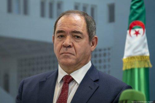 Algerian Foreign Minister Sabri Boukadoum in Tunis, Tunisia on 26 April 2019 [Yassine Gaidi/Anadolu Agency]