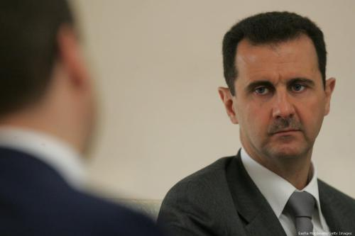 Syrian President Bashar Assad in Damascus, Syria on 10 May 2010 [Sasha Mordovets/Getty Images]