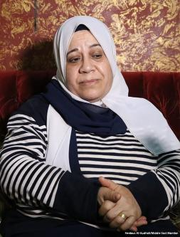 Mother-of-five Um Ahmed talks about adjusting to life in Shatila camp.