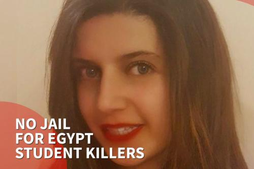 Thumbnail - Four girls spared jail after 'horrific' attack which killed Egyptian student